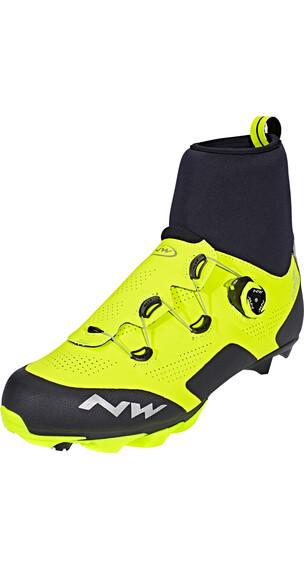 Northwave Raptor Arctic GTX Shoes Men Performance Line Yellow Fluo/Black